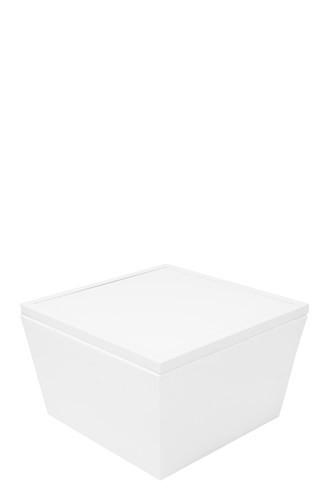 Conic-Lounge weiß