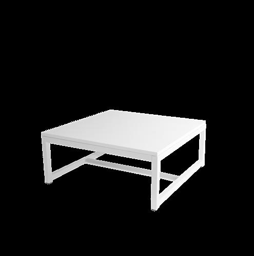 Tisch Kubo Lounge weiß