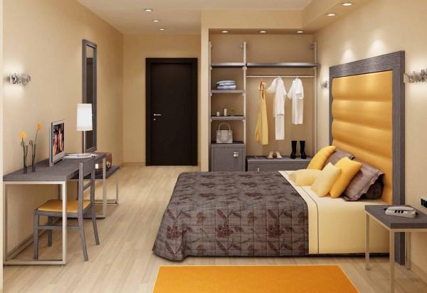Hotelzimmer Zeus Modell 67