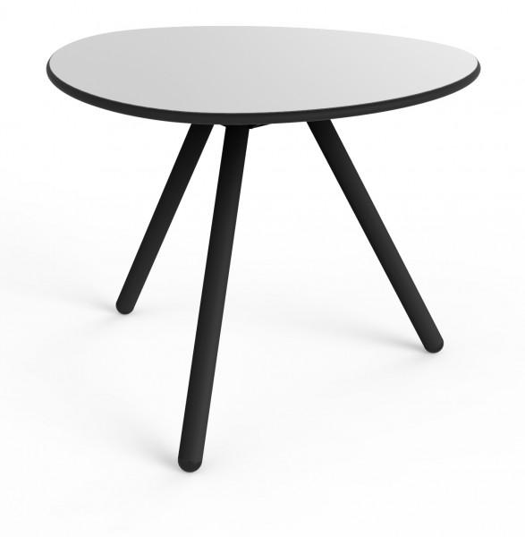 Tisch Little Low grau/schwarz