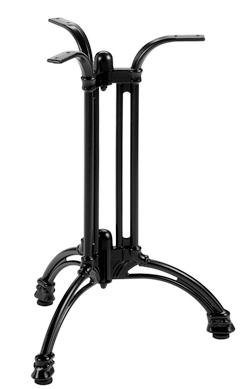 Tischgestell Metall schwarz