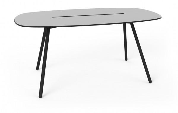 Long Board grau schwarz