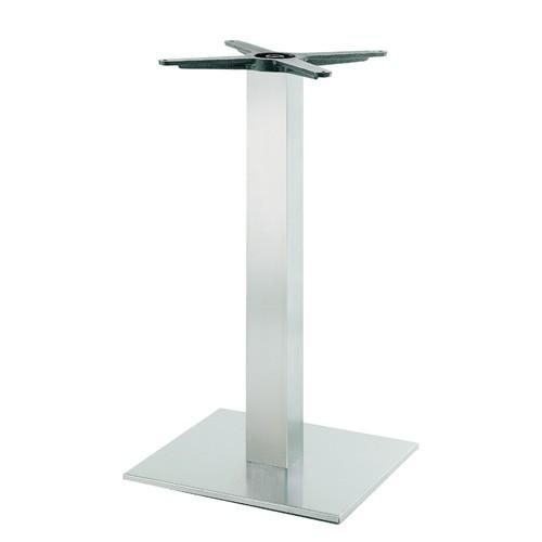 Tischgestell Edelstahl gebürstet