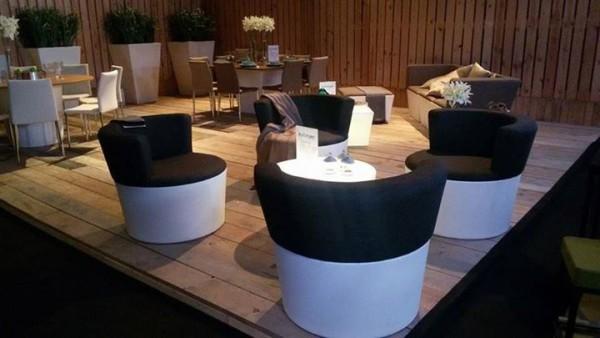 Conic-O-Lounge mit Sitz