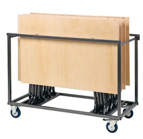 Transportwagen für Klapptisch S-Table